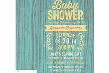 Baby Showers / A collection of baby shower invitations & party ideas. / by The Spotted Olive • Invitations & Stationery Design