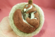 Felt  / Things made of wool felt and roving / by Terri Montgomery