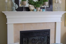 Fireplace Mantel Decor / by Pamella Vann