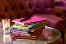 Journals  / Journals and writing / by Stephanie Berhannan
