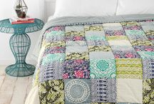 Quilts & fabric. lace / by Karen Cunneen-Bilbow