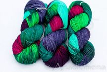 Yarn-y Goodness / Colorful beautiful yarns to drool over. / by Azalea & Rosebud Knits