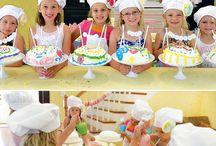 birthday party ideas / by Betsy Gurd-Stoneburner