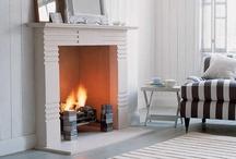 fireplace / by Caroline Ricci