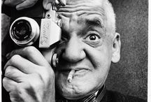 """Weegee The Famous / Weegee (1899 -1968)    AKA: Arthur Fellig, Weegee The Famous.   Weegee made beautiful black and white photographs for newspapers and magazines. Many of his images contain precursors of by now standard film or photography language. His attention for the surrounding of his subject matter made for a dense packaging of information in his images, which was ideal for photojournalism. The tricks of the trade which he found, applied and popularized are many, and can be seen as an early exploration of the possibilities of the medium of photography, and hence his importance for an analysis of contemporary photography.  Weegee had a retrospective show in Maillol Museum in Paris in 2007. """"Weegee"""". It was a rare collection of photographs from a period of about ten years before the end of the second world war, and it showed the versatility of a technically very skilled photographer, who manages to acquire balance in snapshots, and immediacy in staged photographs.    For more information about Weegee please visit his Wikipedia page: http://en.wikipedia.org/wiki/Weegee / by Mezaial"""