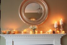 Mantelpiece Christmas Lights / From garlands to glittering Christmas lights you'll find some festive inspiration for your mantelpiece this year. Go on... grab your iPad, a coffee and indulge yourself... / by Lights4fun