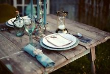 of Party and tables / by Lakshmi Arvind