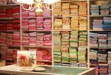 Sewing Studio organizing ideas / by Tammy Vonderschmitt