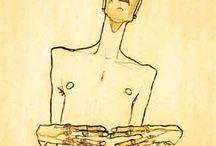 Egon Schiele / by Artist Jason Lamacraft