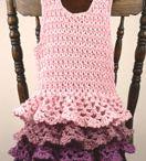 Crochet/knit tunic dress / by Froukje van Aalst