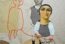 collage/ mixed media/ art boxes / by Graciela Seró Mantero
