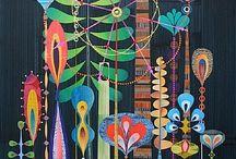 Art that inspires / art / by Deborah Irish