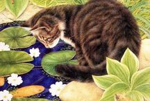 i like . . . more cats! / art, photo, whimsy - just cats / by Joy Durben