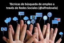 Todo sobre trabajo y redes sociales / by Alfredo Vela