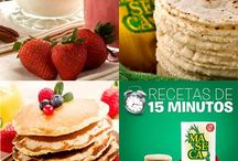 Recetas:15 minutos o menos /  #Recetas que toman 15 minutos o menos en prepararlas #MasecaNosGusta / by Mi Maseca USA