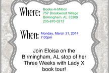 Meet Eloisa in Person! / by Eloisa James
