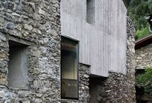 Stone, Brick, Concrete (building and follys) / To build is to dwell, to dwell is to think.  / by Matthew Sloly
