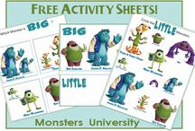 Free Kids Activity Sheets  / by Crystal (www.crystalandcomp.com)