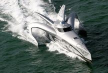 Futuristic Yacht Designs / Futuristic #yacht #designs that will leave you breathless  / by Bluewater