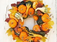 """Everyday"" Fall Wreaths / It's Fall Y'all! / by Everyday Home"