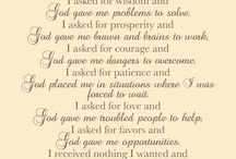 Prayers  / by Debbie Robinson