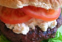 FOOD: Burgers / by Christine from First Home Love Life