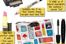 Whats in yours makeup bag??? / by Inoue Sanches