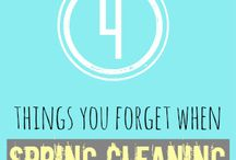 Spring cleaning / by Melinda Griffith