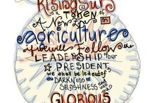 Agricultural Ideas and Notions / by Karli Feicht