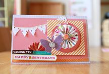 Cards / Sweet awesome and inspiring cards! / by Katie Osterhout Bunn