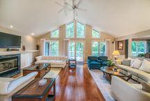 Living Room Storage/Organization/Deco / by Jessica Evans