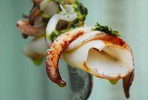 Calamares, sepias y pulpo / by Cocinera Loca