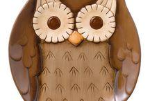 Owl decor  / by Amy Elrod