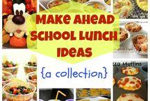 School Lunch Ideas / by Emily Allison