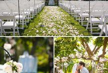 ❦ Mariage : décoration extérieure ❦ / Des jolies photos, source d'inspiration, pour décorer l'extérieur. Pour un Mariage pas comme les autres ;) / by Nathalie DAOUT - Social Media
