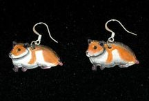 Earrings / by HeadOverHamsters by Lindsay Russell