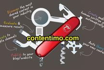 Introducing Contentimo for Content Marketers Everywhere! / Leverage the marketing power of http://www.contentimo.com today! / by Contenteur