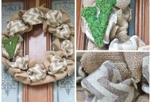 Crafts - Wreaths / by Crystal Barnett-Sheaves