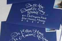 Calligraphy:  The Art of Beautiful Writing / by Ginny Winfree