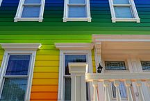 Rainbows and colours / by Christine Sheehan