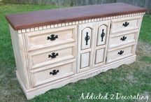 how to Antique Furniture / by Joann Bingaman
