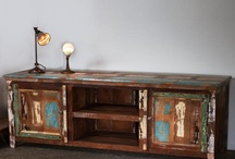 Reclaimed Wood Entertainment Center / by Reclaimed Wood, Inc.