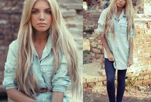{ denim } / by Michelle Curry