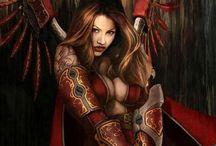 Fantasy Female Warriors / by Gloria Forney
