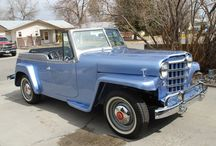 Willys Jeepster / 1948-1950 Willys Jeepster and 1966-1973 Jeepster Commando / by Kaiser Willys Auto Supply