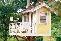 Treehouses/Birdhouses/Playhouses / by Susan Wells