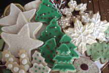 xmas cookies / by Margaret Nagy