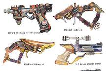Guns/Blades/Armor / by benjamin lesley