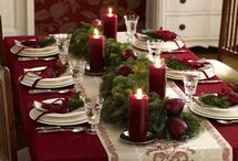 Christmas Table Settings / by Alise Spence