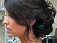 Hair Ideas for Kel's Wedding / by Ashley Lynne